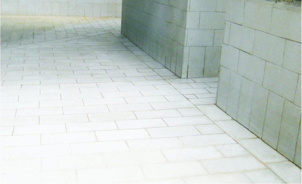 Corrosion resistant tiles